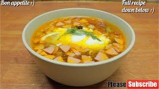 🥘Solyanka Soup | Meat Soup🥘