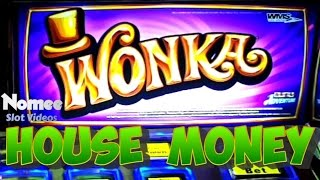 Wonka Slot Machine - Max Bet Bonuses - House Money!