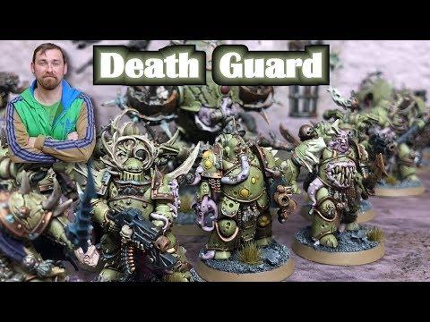 Warhammer 40k Armee Vorstellung Death Guard - Mit Taktik Tipps