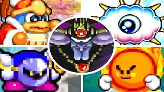 Kirby Nightmare in Dream Land - All Bosses (No Damage)