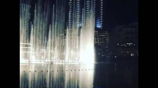Dubai water fountain Hindi song
