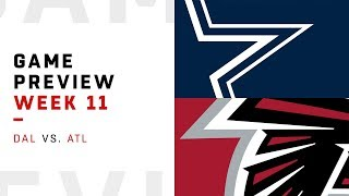 Dallas Cowboys vs. Atlanta Falcons | Week 11 Game Preview | Move the Sticks