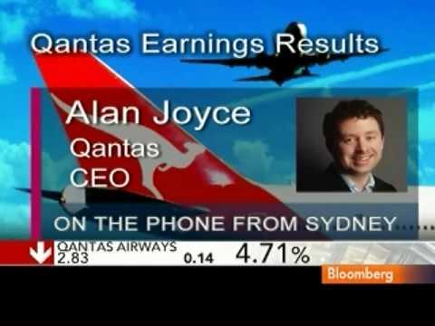 Joyce Says Qantas Airways to Reconfigure Premium Seating: Video