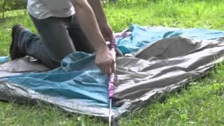 Monter une tente, pratiquement à l'ancienne