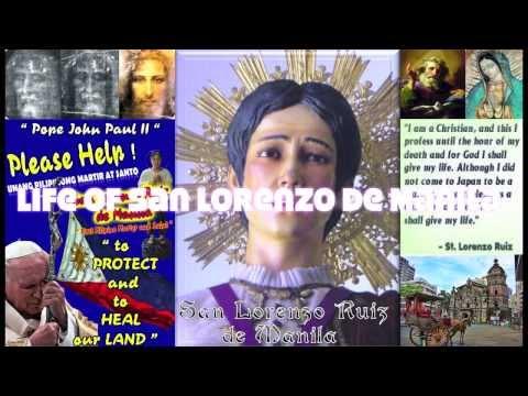 Life Story of San Lorenzo Ruiz de Manila
