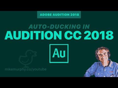 Auto-Ducking: Adobe Audition CC 2018