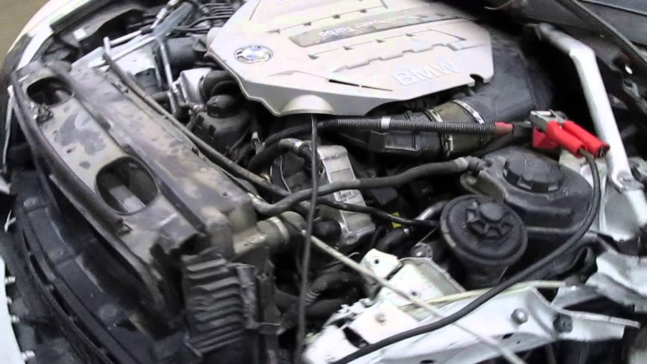 2011 BMW X6 4.4L Parts Vehicle Engine Test (160407) - YouTube