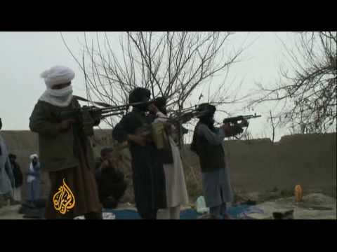 Afghan fighters engage in peace talks with Kabul