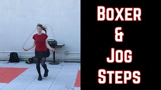 Rope Jumping For Fitness: The Boxer And Jog Steps