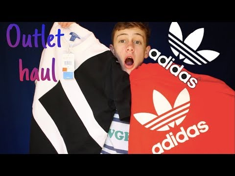 ADIDAS OUTLET HAUL!! (INSANE HOLIDAY DEALS!)