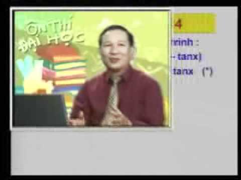 Ôn thi Đại học: Phương trình lượng giác P3 4