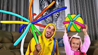 Aprender colores con globos - bebé rimas los niños Mi Mi Kids