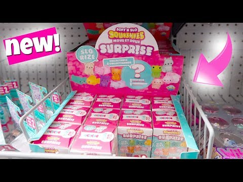 NEW SURPRISE SQUISHIES + 10 DIFFERENT KINDS OF SQUISHIES AT WALMART!
