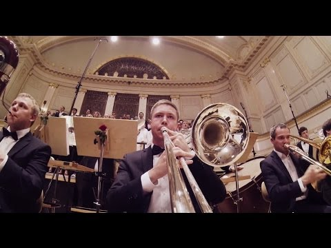 GoPro On Trombone: Carmina Burana - O Fortuna