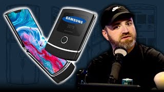The Samsung Galaxy Razr Fold