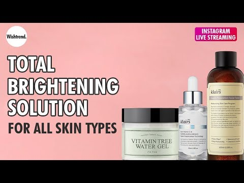 Total Brightening Solution For All Skin Types, From Teen Skin To Mature Skin