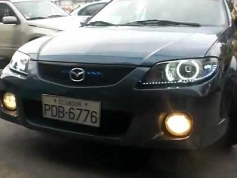 Ojos De Angel Angel Eyes Mazda Allegro Youtube