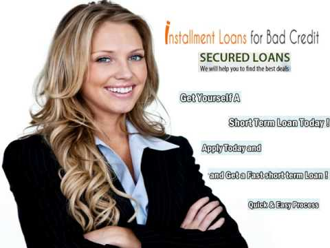 Installment Loans For Bad Credit - Live Tension Free Via Online Cash Support