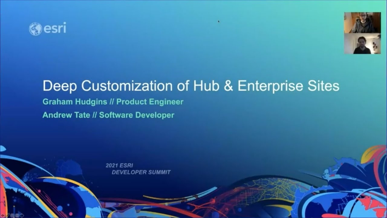 Download Deep-Customization of ArcGIS Hub and Enterprise Sites