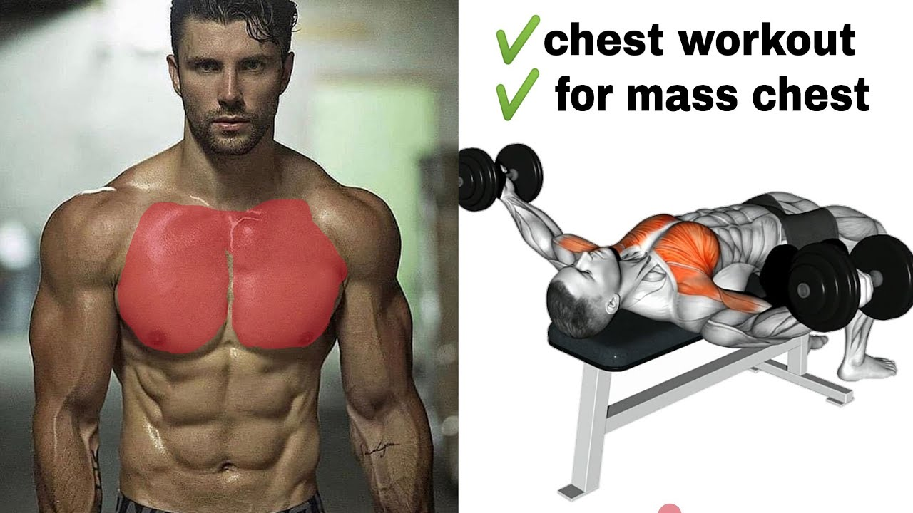 Perfect Chest workout for mass - YouTube