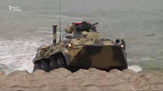Росія проводить військові навчання в Балтійському морі