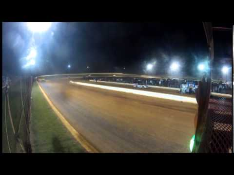 DVD of World of Outlaws Late Models - Smoky Mountain Speedway 9-13-13 8 In-Car Cameras With Wreck