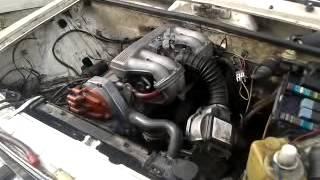 Ваз 2106 bmw мотор 1.8 первый запуск