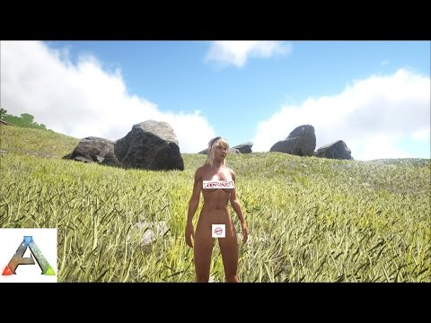 New Nude Girl in Ark Survival Evolved