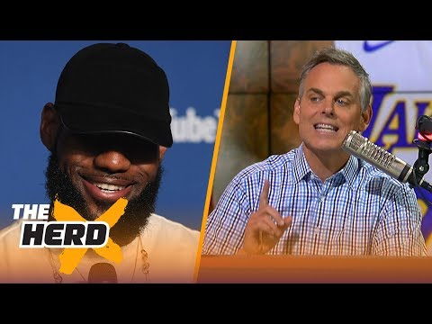 Colin Cowherd on LeBron joining Lakers, Magic as better GM than Michael Jordan  NBA  THE HERD