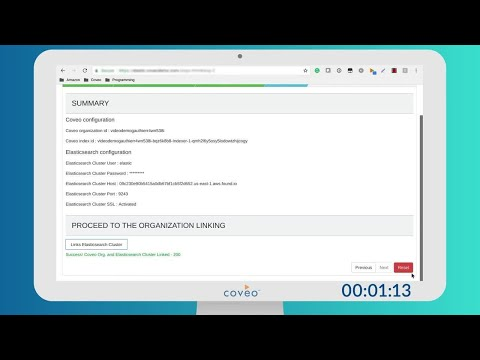Coveo on Elasticsearch   Index