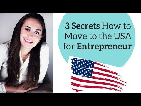 How To Move To USA A Foreign Entrepreneurs ☑️🇺🇸👏
