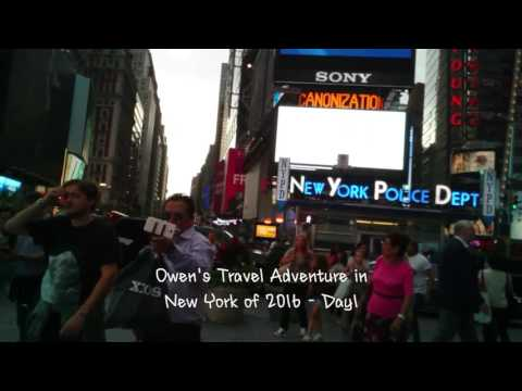 VLOG New York City Vlog part1 - Watching Aladdin Broadway Musical