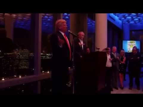 Donald Trump Impersonator John Di Domenico at Trump Soho NYC
