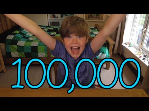 8-year old Ethan reaches 100,000 Subscribers!!!! COUNTDOWN + REACTION!!!