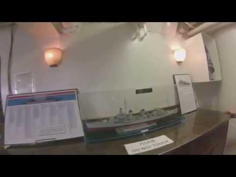 USS Iowa BB-61 Tour, Long Beach, CA 5-24-2014