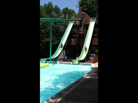 Crazy Water Slide - Water Country USA