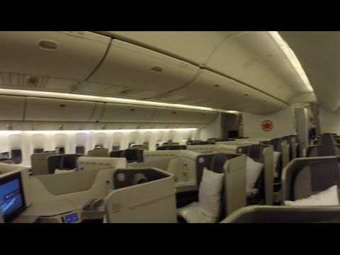 Air Canada Business Class - Montreal to Paris 777 300ER