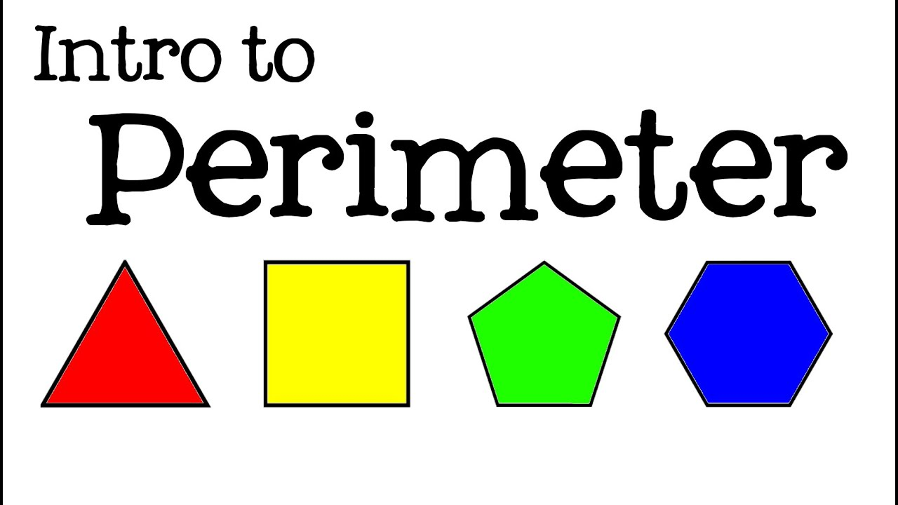 intro to perimeter for kids how to find the perimeter of polygons