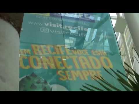 Propaganda de Recife no Aeroporto de Natal
