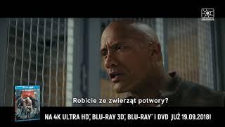 Rampage: Dzika furia - oficjalny spot 4K Ultra HD Blu-ray, Blu-ray 3D, Blu-ray i DVD