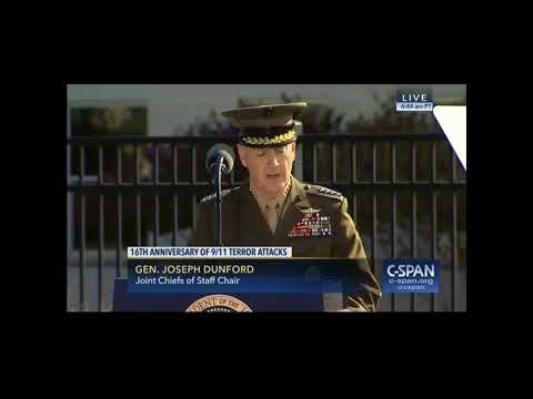 Dunford: 'The Freedom of Many Should Never Be Endangered By the Hatred of a Few'