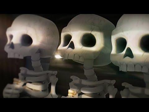 Clash Royale Official Skeleton Barrel on a Mission Trailer