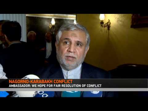 Iranian Ambassador: We hope for the fair resolution of the Nagorno-Karabakh conflict