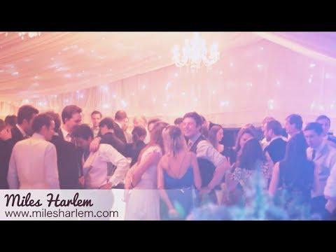 Miles Harlem - Nottingham Wedding & Events Band, Midlands - UK
