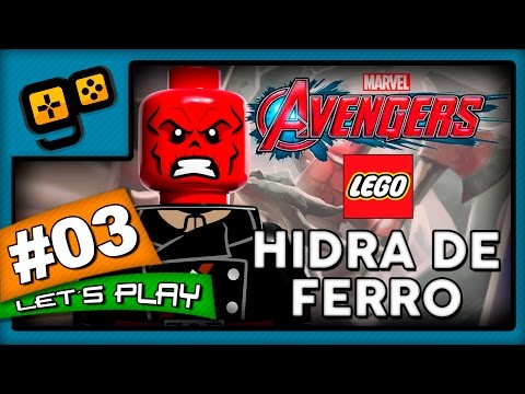 Let's Play: Lego Vingadores - Parte 3 - Hidra de Ferro