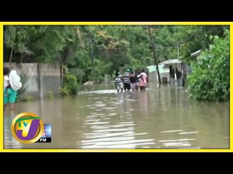 Halse Hall, Clarendon Flooded | TVJ News - August 26 2021