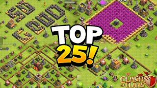 """Clash of Clans - 25 WORST BASES IN HISTORY! """"WTF!"""" CoC Comedy Funny Rushed Troll Base Designs!"""