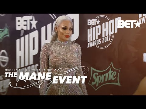 Keyshia Brings A Cold Front To Miami With Her Iced Out BET Hip Hop Awards Bodysuit