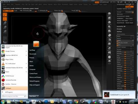 Full download zbrush modeling tutorial restoring for Mirror zbrush