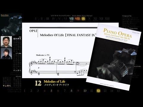 [Scrolling Sheet] Piano Opera Final Fantasy VII/VIII/IX -Full Album-